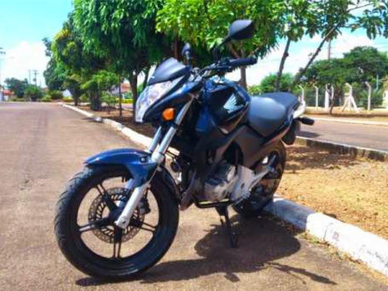 honda cb300r 2012 azul