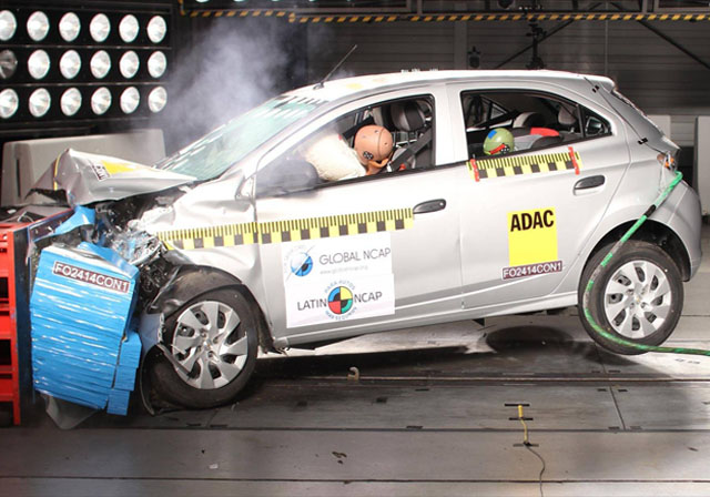 Crash Test Latin NCAP