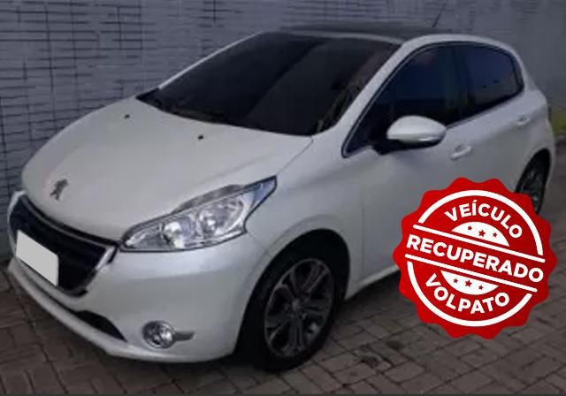Rastreador Veicular da Volpato recupera Peugeot 208 em Porto Alegre
