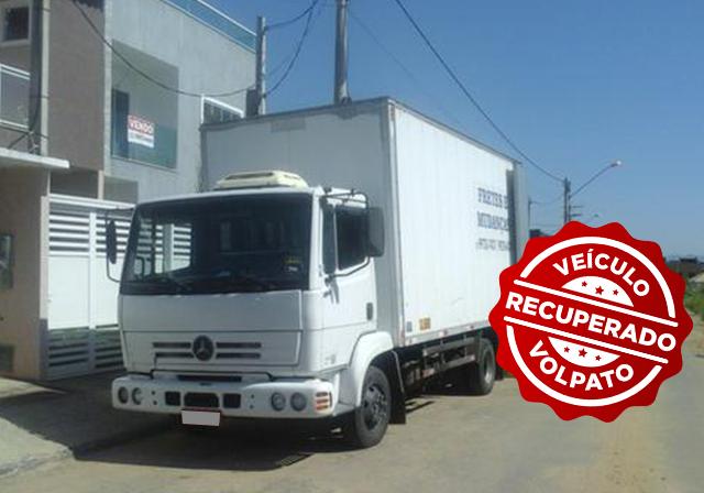 Caminhão é recuperado em Osório graças a rastreador veicular