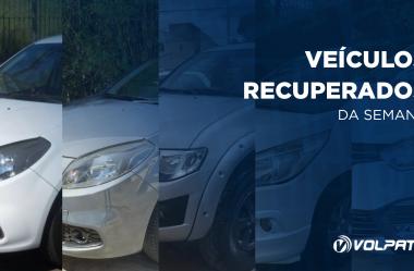 5 veículos são recuperados graças ao Rastreador Veicular da Volpato
