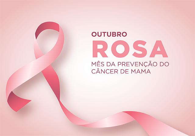 Outubro Rosa: mês da prevenção do câncer de mama