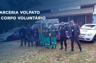 Volpato faz doação de Alarme Monitorado ao Corpo Voluntário do RS