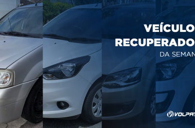 Quatro veículos são recuperados graças ao Rastreador Veicular da Volpato