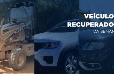 Três veículos são recuperados graças ao Rastreador Veicular da Volpato