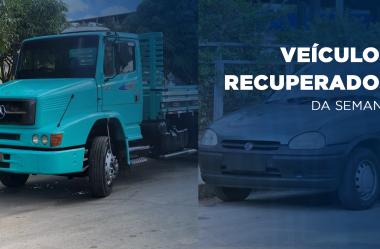 Dois veículos são recuperados pelo Rastreador Veicular
