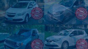 Conheça alguns carros roubados e recuperados pela Volpato!