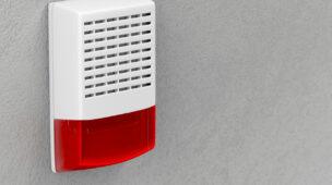 Como funciona um alarme com sirene?